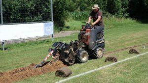 Versenkberegnungsanlage Sportfeld