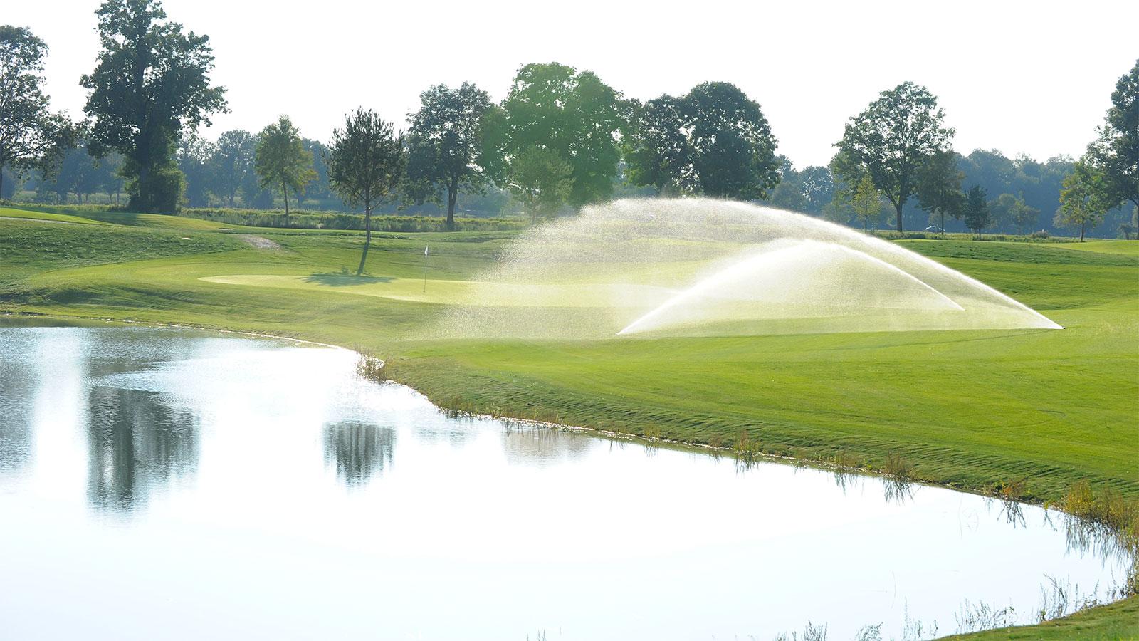 Bewässerung Golfanlage