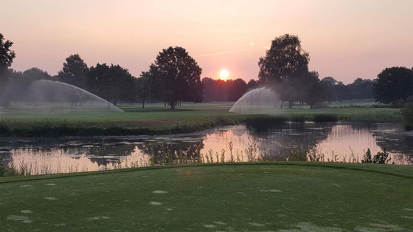 Bewässerung Golfplätze