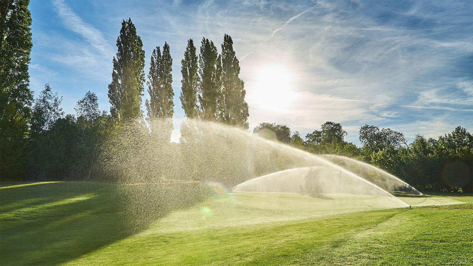 Bewässerungssystem Golfanlage