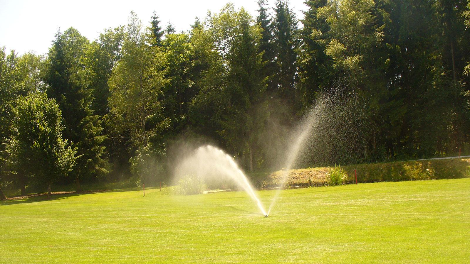 Golfplätze richtig bewässern