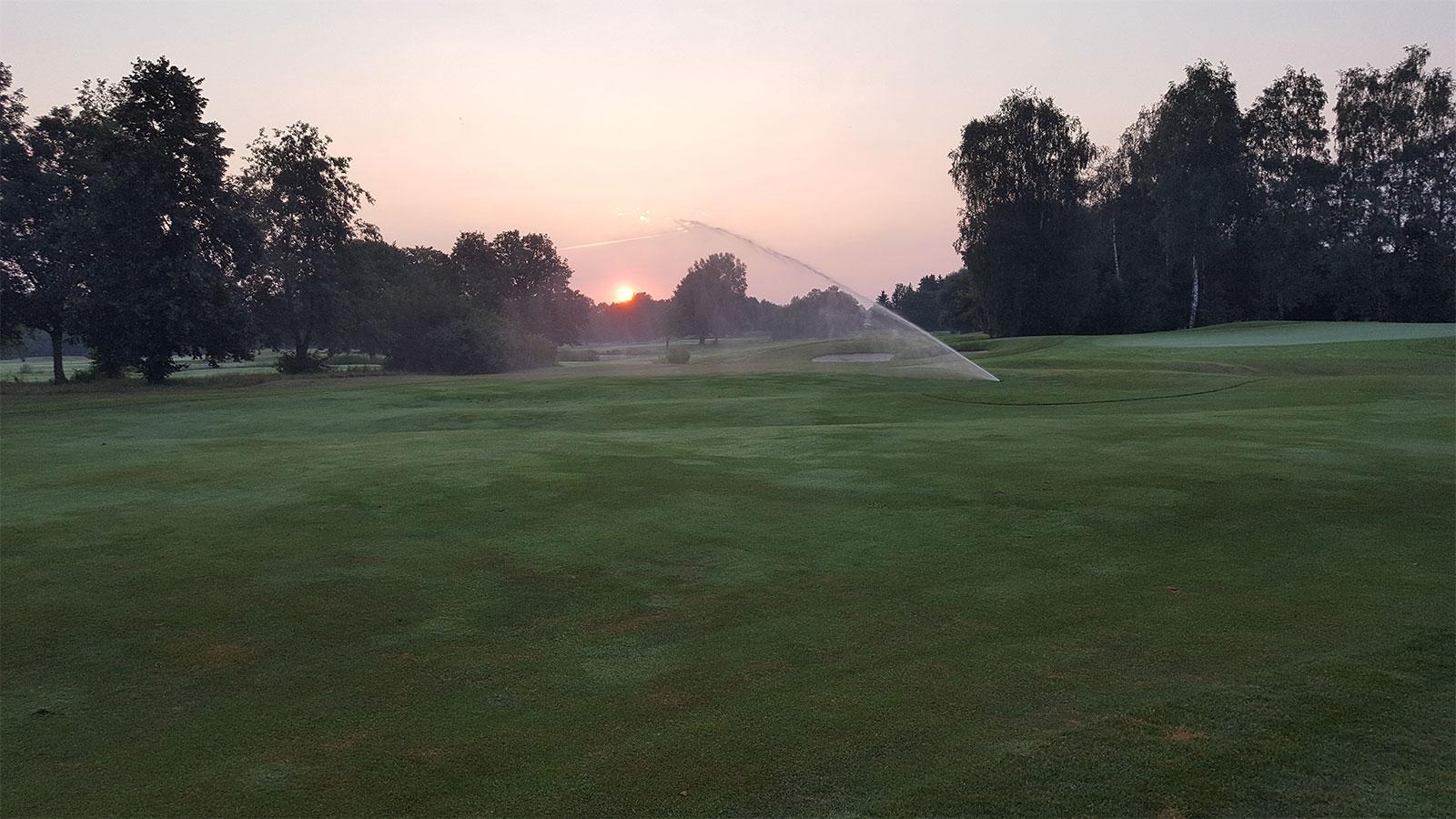 Golfplatzberegnung Bewässerungstechnik