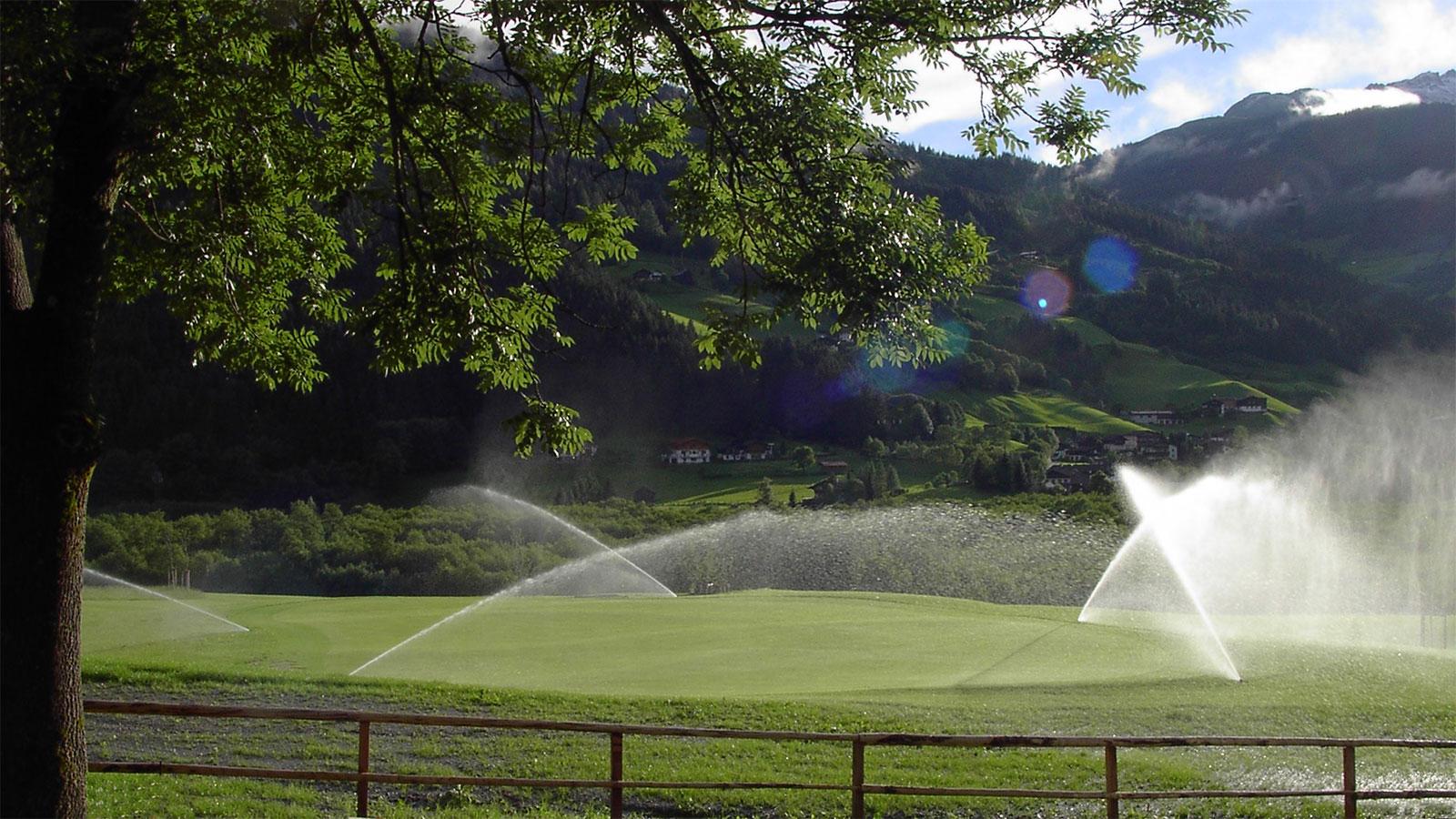 Professionelle Golfplatzberegnung